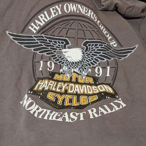 Vintage 1991 Harley Davidson Tshirt